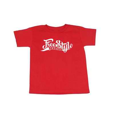 FS Logo Youth Tee Red