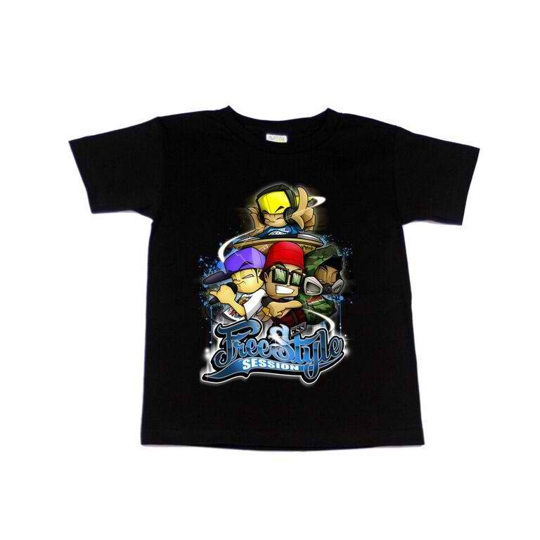 FSS Character Youth Tee Black