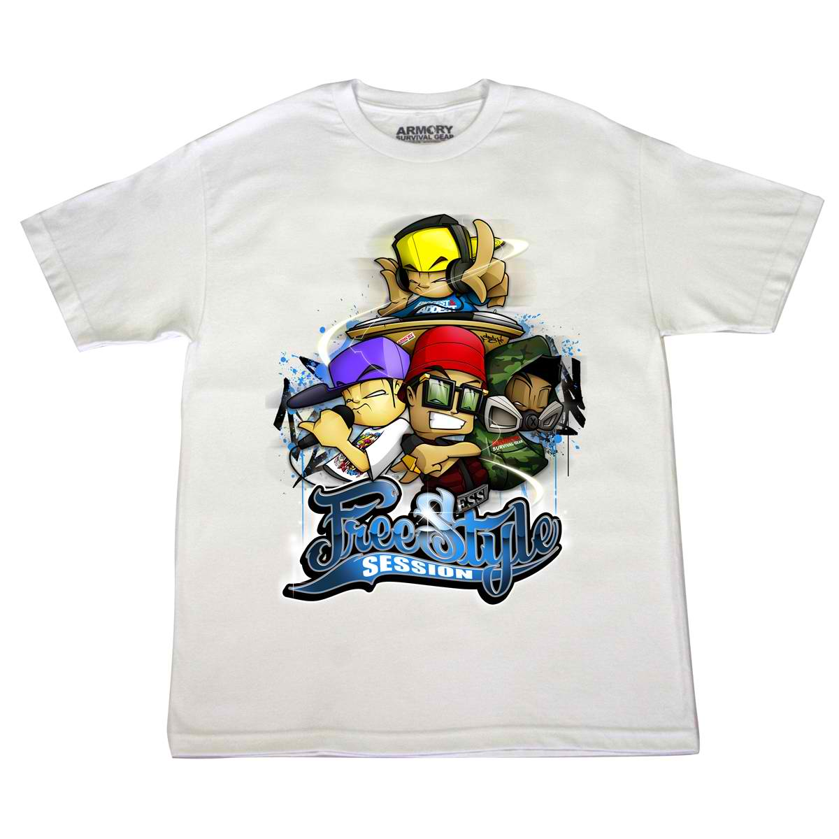 Freestyle Session 12 Men's T-Shirt White