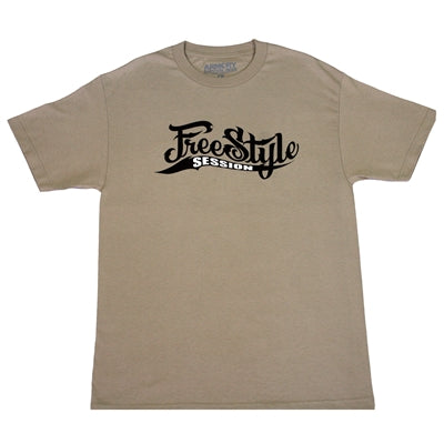 Freestyle Session Logo Tee - Khaki