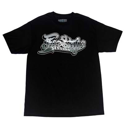 Freestyle Session Shiny Logo Tee - Black