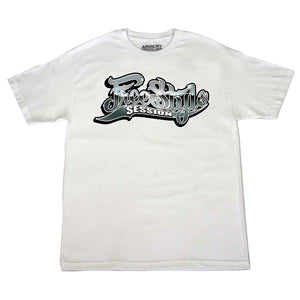 Freestyle Session Shiny Logo Tee - White