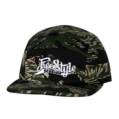 Freestyle Session 5 Panel Adjustable Hat Camo