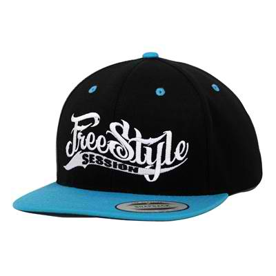 Freestyle Session Hat - Black/Turquoise