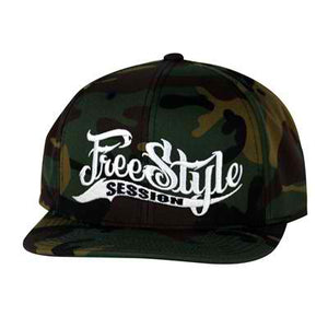 Freestyle Session Snap Back Camo