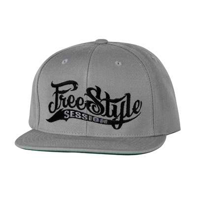 Freestyle Session Snap Back Grey