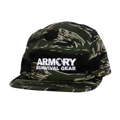Armory 5 Panel Camo Adjustable Hat
