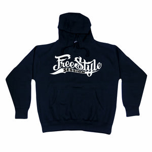 Freestyle Session Hoody Black w/ White