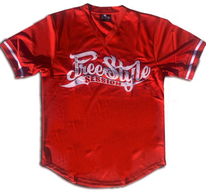 Red Freestyle Session Jersey