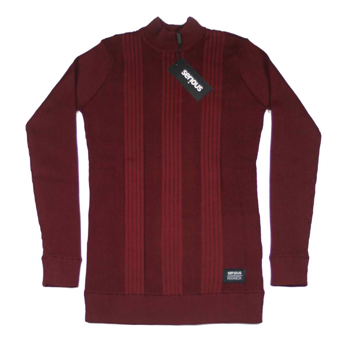 Serious Brand Mock Neck Long Sleeve Colors