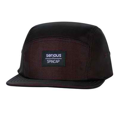 Serious Brand 5 Panel Spin Hat Burgundy