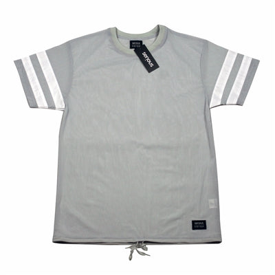 Serious Brand Bee Vee Dee Shirt Grey