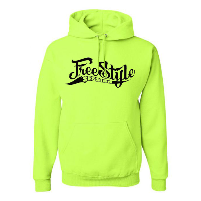 Freestyle Session Fluorescent Yellow Hoodie