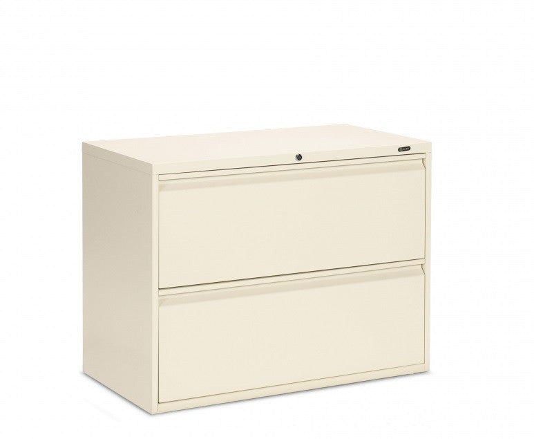Global Metal 2 Drawer Filing Cabinet