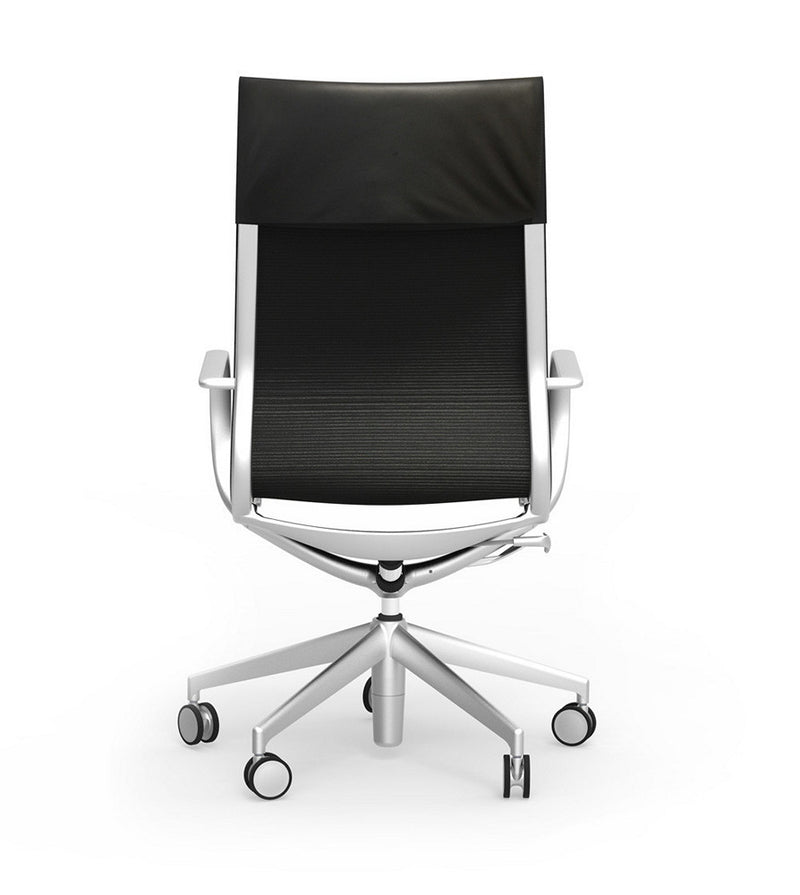 iDesk Curva High Back Leather Conference Chair