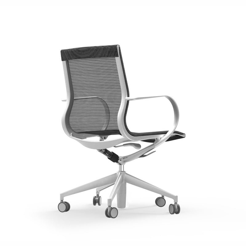iDesk Curva Mid Back Mesh Conference Chair
