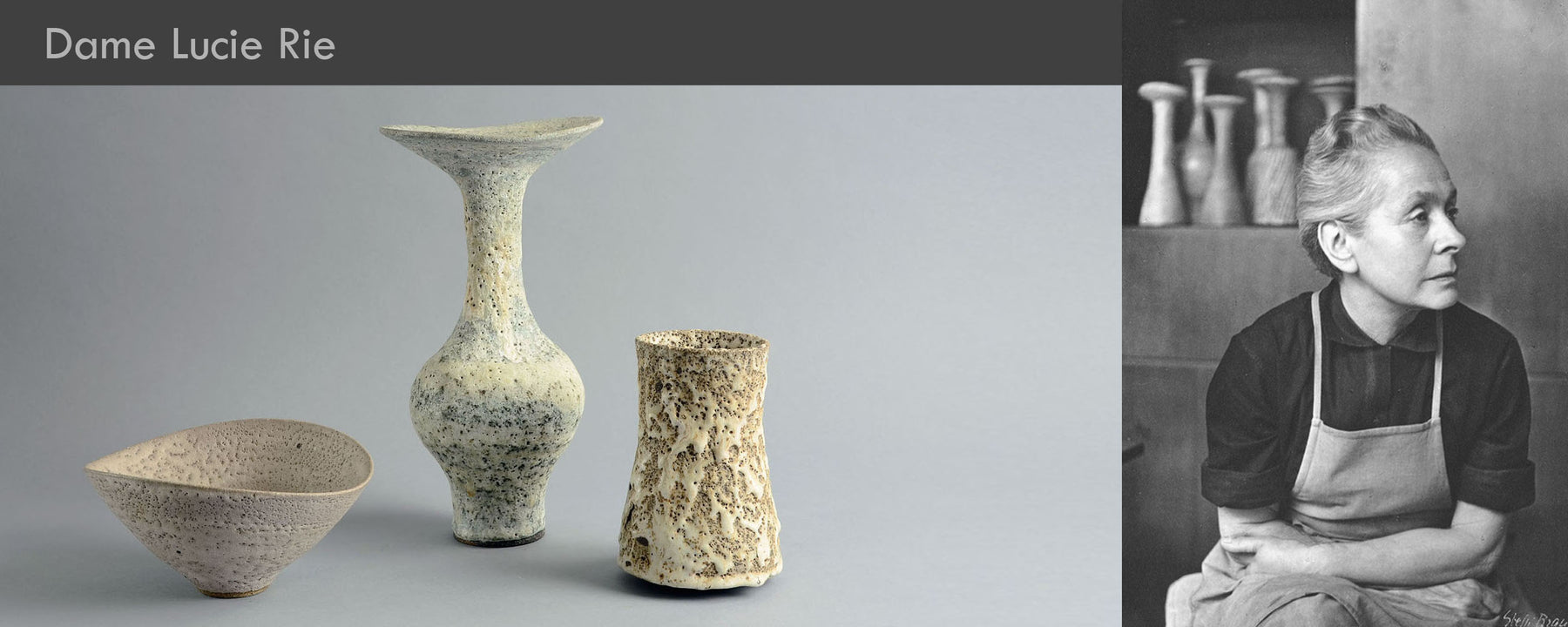 Dame Lucie Rie, Modernist British Art Pottery