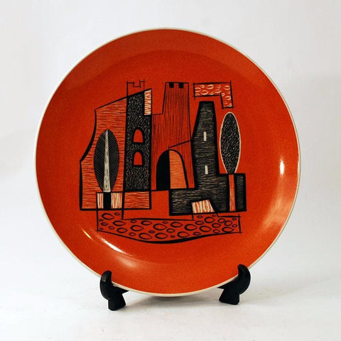 Handpainted porcelain plate by Wawel