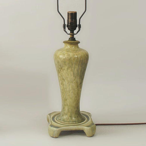 Stoneware lamp by William Howson Taylor for Ruskin Pottery N6611