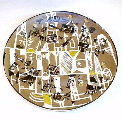 Polish porcelain plate by Wawel