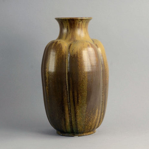 Very large stoneware vase by Arne Bang