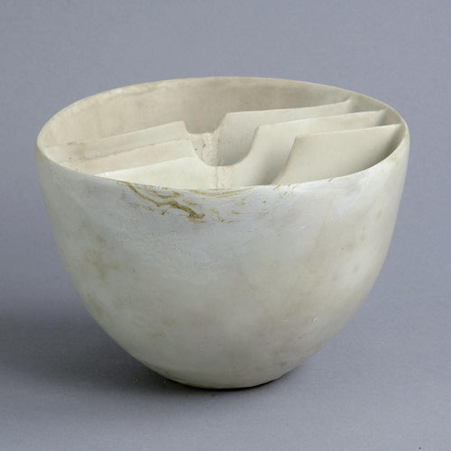 Stoneware sculptural vessel by Ruth Duckworth