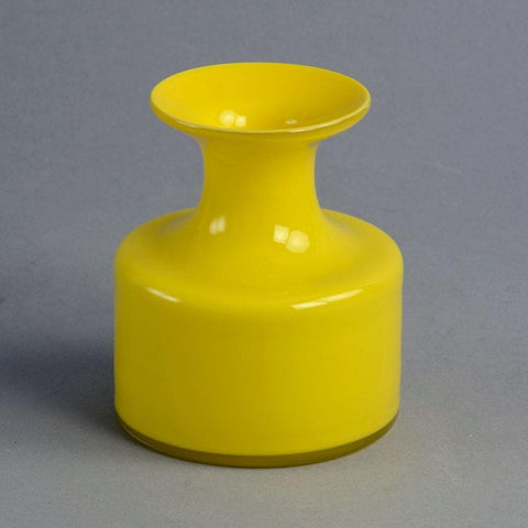 """Carnaby"" vase in yellow glass by Per Lutken"