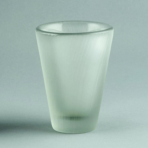 Tapio Wirkkala for Iittala, engraved glass vase