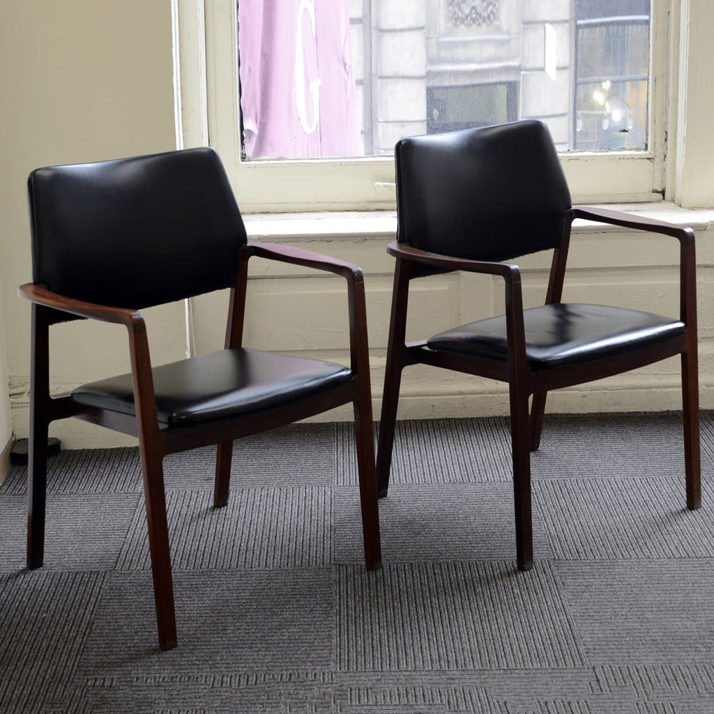 Pair of chairs by Bramin, Denmark