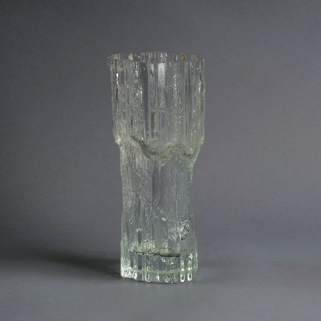 "Glass ""Avena"" vase by Tapio Wirkkala for Iittala"