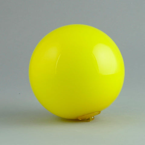 Holmegaard hanging ball in yellow N2451