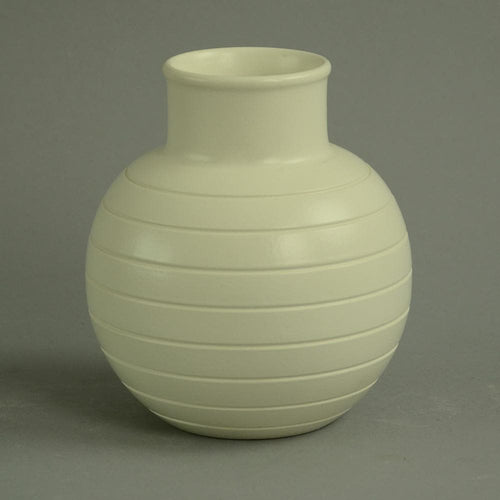 Stoneware vase by Keith Murray for Wedgwood