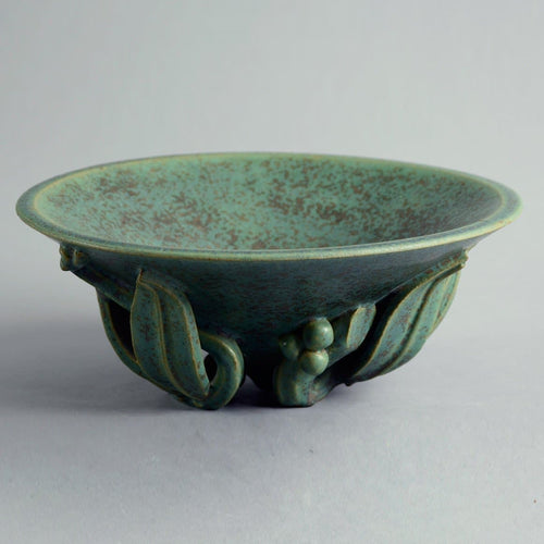 Bowl with sculptural base by Arne Bang, A1479