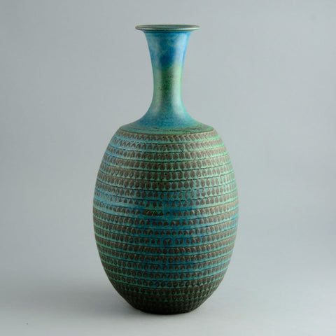 Stig Lindberg for Gustavsberg, very large unique stoneware vase D6020