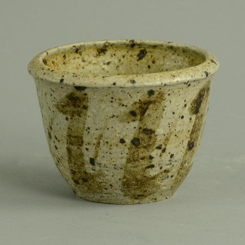 Unique stoneware bowl by Angelo Garzio N6923