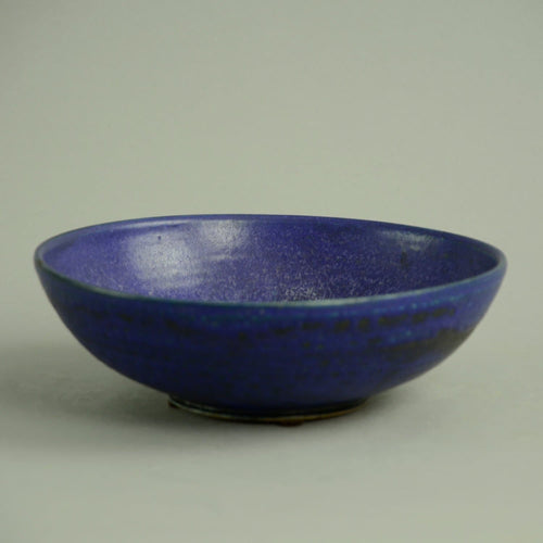 Unique stoneware bowl by Annikki Hovisaari N2879