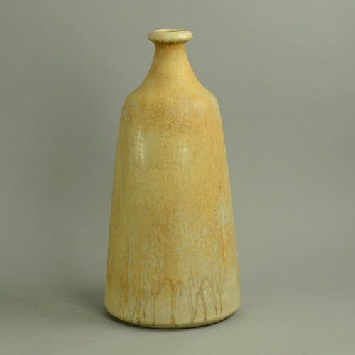Very large unique stoneware bottle vase by Gerald and Gottlind Weigel