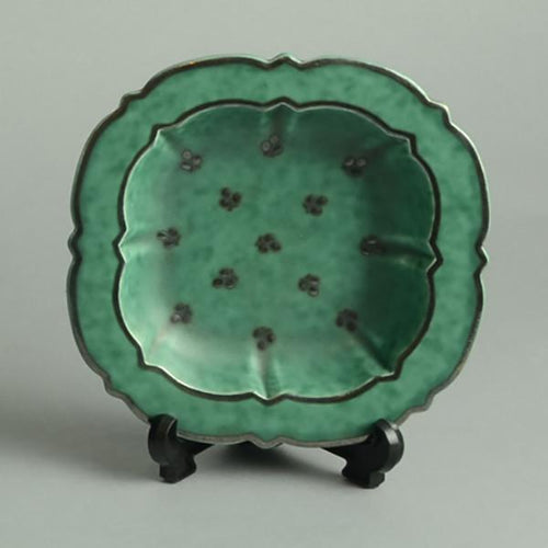 """Argenta"" footed bowl by Wilhelm Kage N5543"