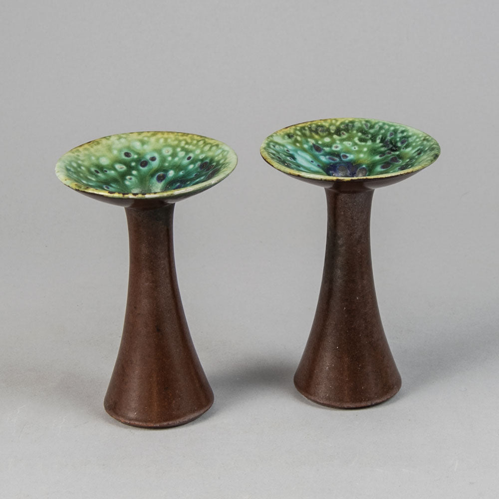 Purple glass vase by Gunnel Nyman for Nuutäjarvi-Nottsjö