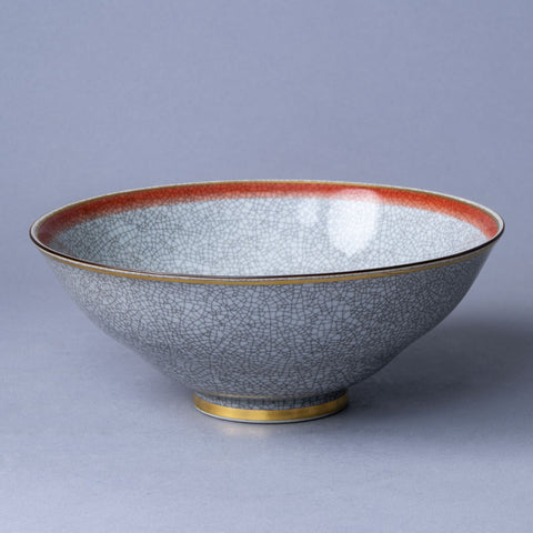Earthenware vase with matte green and black glaze by Svend HammershøiC5116
