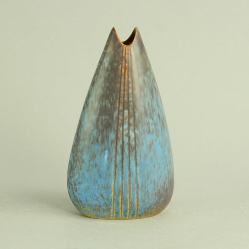 Vase with blue and brown glaze by Gunnar Nylund C5181