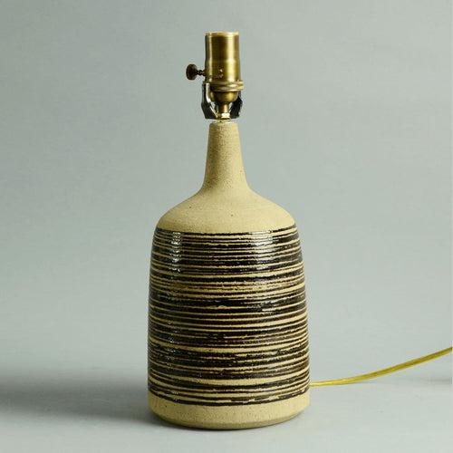 Stoneware lamp by Palshus A1096
