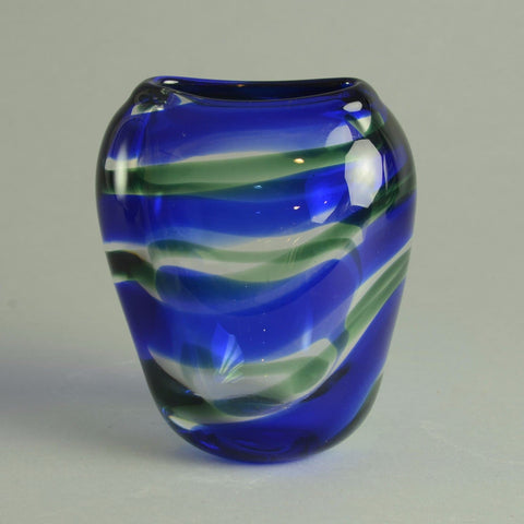 Glass vase by Floris Meydam for Leerdam N6755