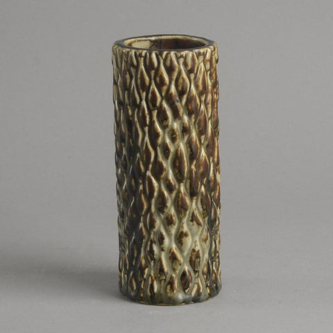 Axel Salto budding vase with Sung glaze  for Royal Copenhagen