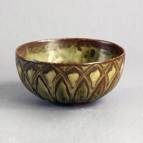 Axel Salto for Royal Copenhagen, bowl with Sung glaze