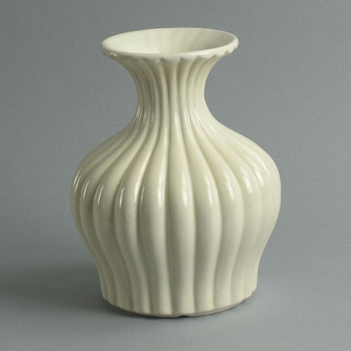 Earthenware vase by Ewald Dahlskog