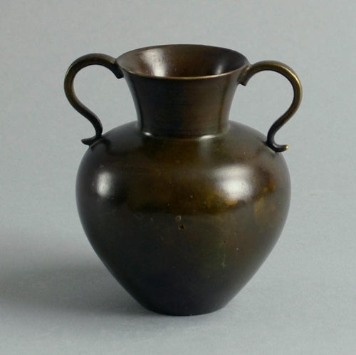 Bronze handled vase by Just Andersen for GAB A1739