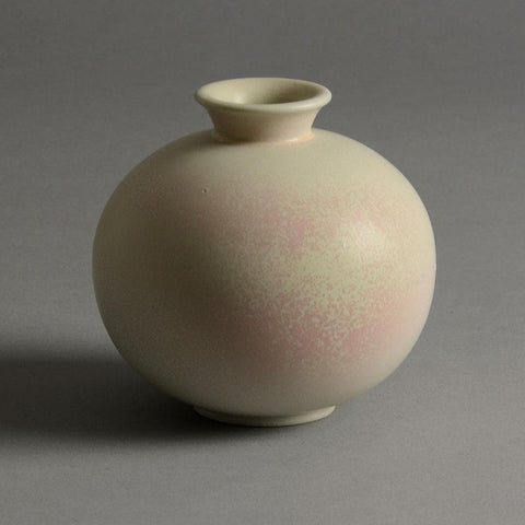 Gunnar Nylund for Rorstrand vase with matte white glaze for sale