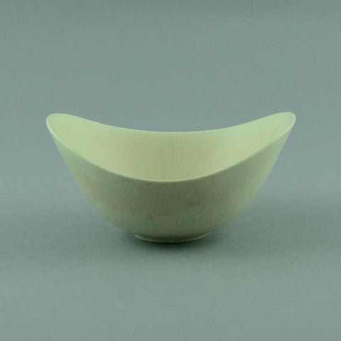 Gunnar Nylund for Rorstrand, ovoid bowl with white glaze D6051