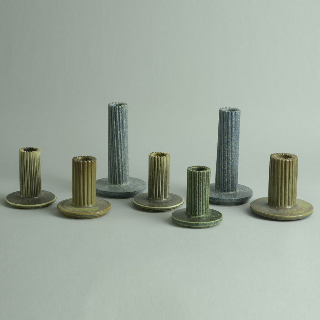 Group of candlesticks by Arne Bang